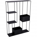 Metal shelf Pavel, for hanging, L42cm, H60cm, B10.